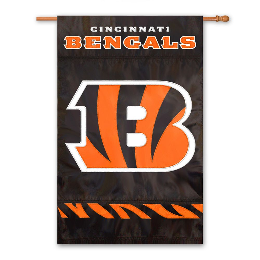 Cincinnati Bengals Two-Sided Flag