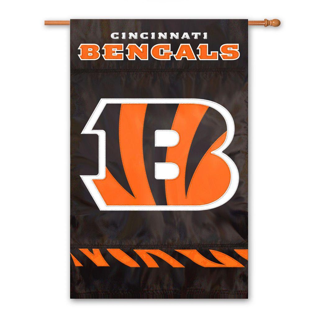 Cincinnati Bengals Two-Sided Flag