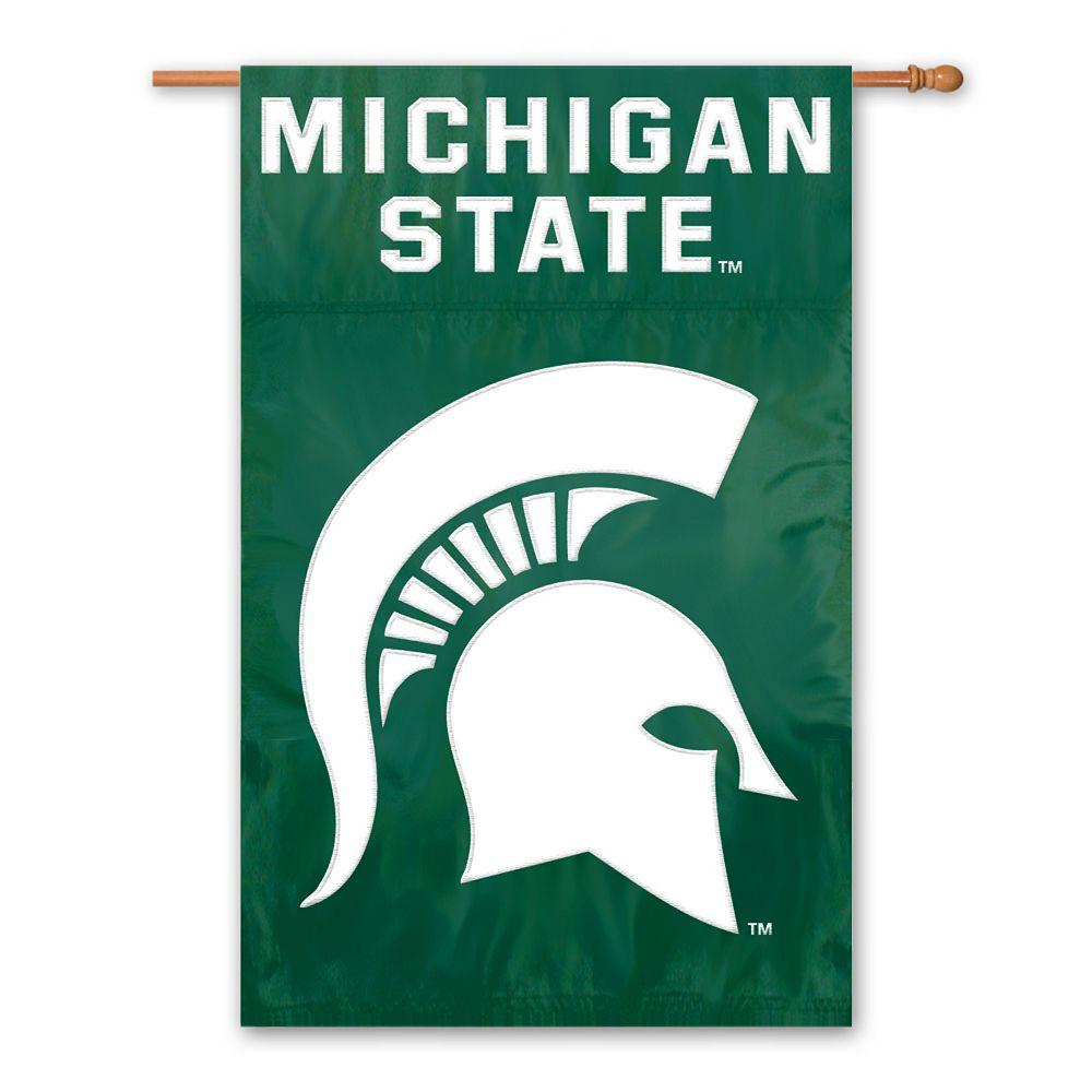 Michigan State Spartans Banner Flag