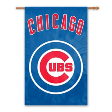 Chicago Cubs Banner Flag