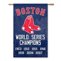 Boston Red Sox Dynasty Banner Flag