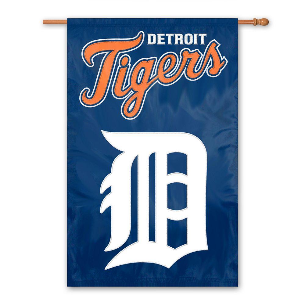 Detroit Tigers Banner Flag