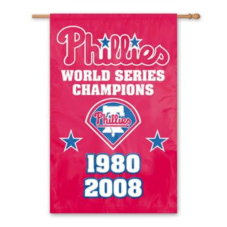 Philadelphia Phillies Dynasty Banner Flag