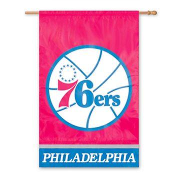 Philadelphia 76ers 2-Sided Banner