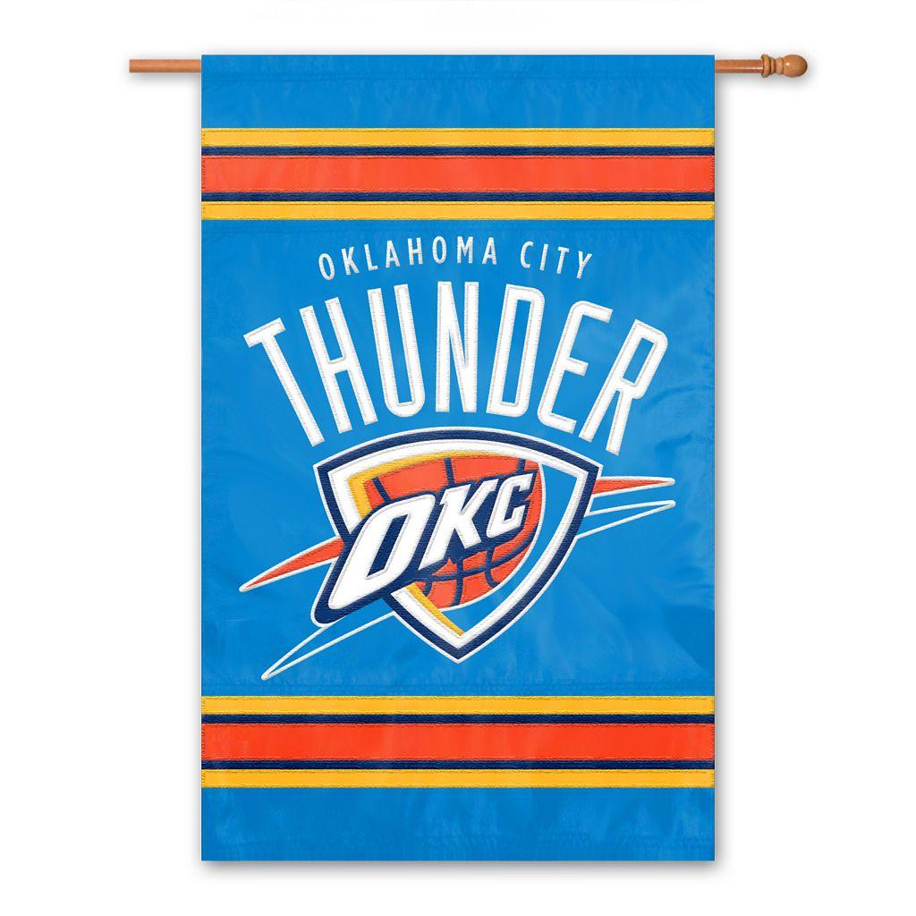 Oklahoma Thunder 2-Sided Banner