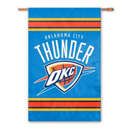 Oklahoma Thunder 2-Sided Banner