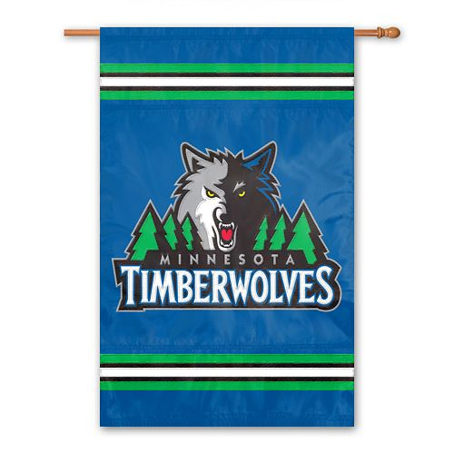 Minnesota Timberwolves 2-Sided Banner
