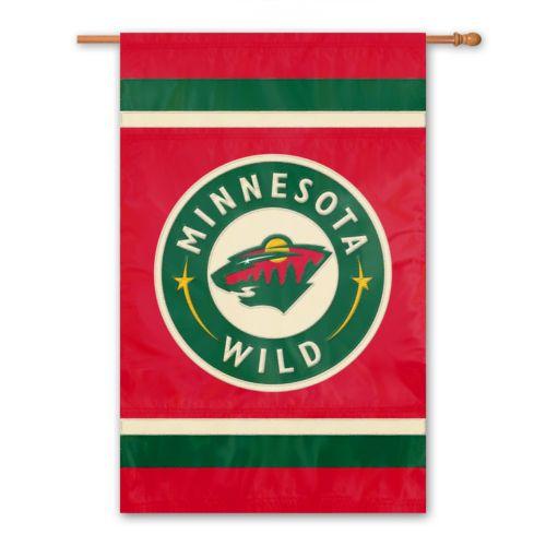 Minnesota Wild Banner Flag