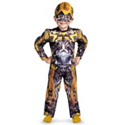 Transformers 3: Dark of the Moon Bumblebee Muscle Costume - Toddler