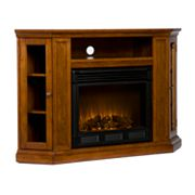 Claremont Media Console & Electric Fireplace