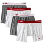 New Balance 4-pk. Stretch Boxer Briefs