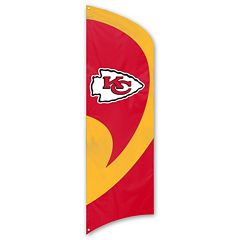 Kansas City Chiefs Tall Team Flag