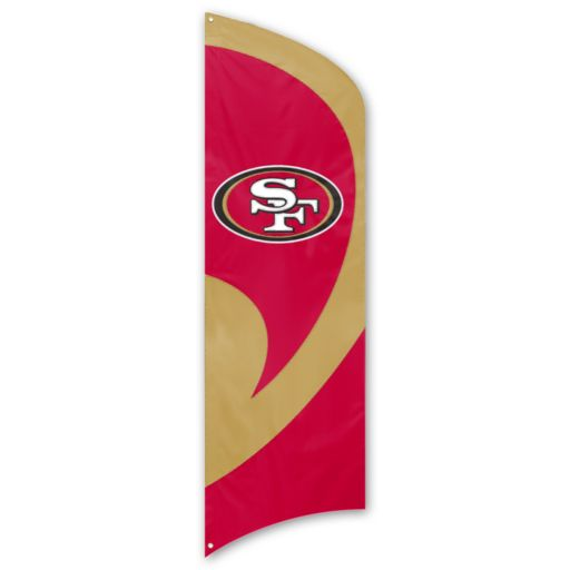 San Francisco 49ers Tall Team Flag