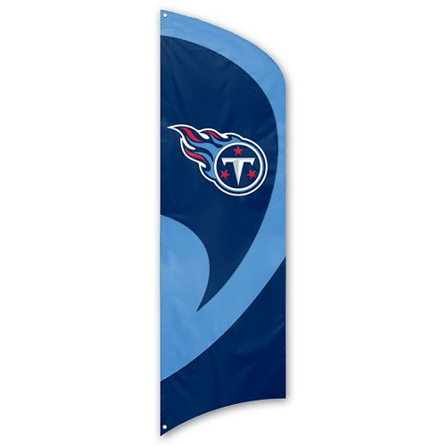 Tennessee Titans Tall Team Flag