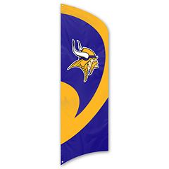 Minnesota Vikings Tall Team Flag
