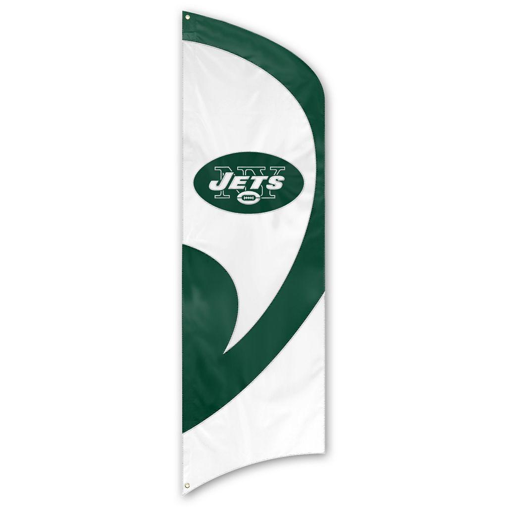 New York Jets Tall Team Flag