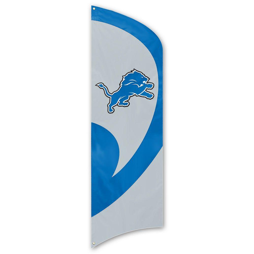 Detroit Lions Tall Team Flag
