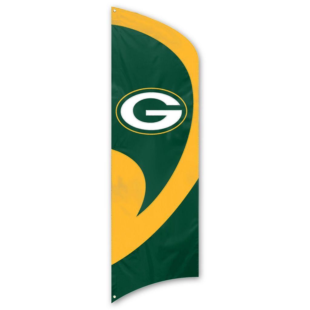 Green Bay Packers Tall Team Flag
