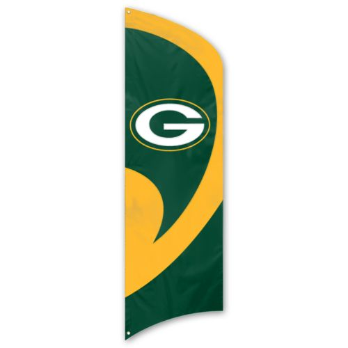 Green Bay Packers Tall Team Flag
