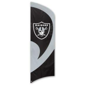 Oakland Raiders Tall Team Flag