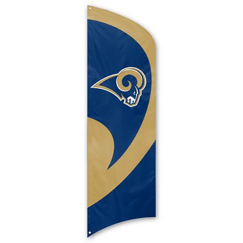 Los Angeles Rams Tall Team Flag