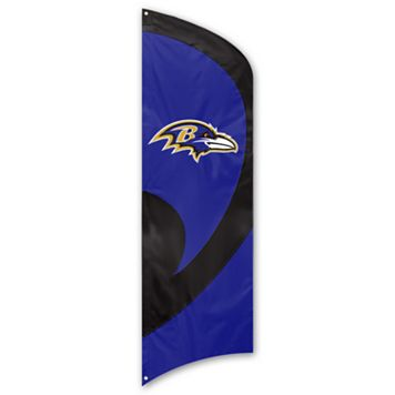 Baltimore Ravens Tall Team Flag