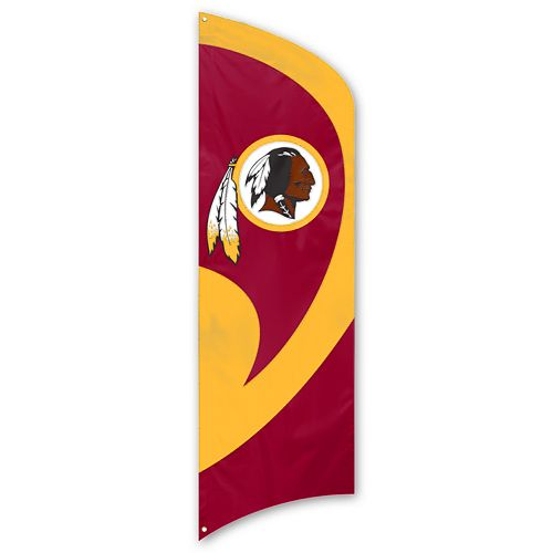 Washington Redskins Tall Team Flag