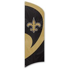 New Orleans Saints Tall Team Flag