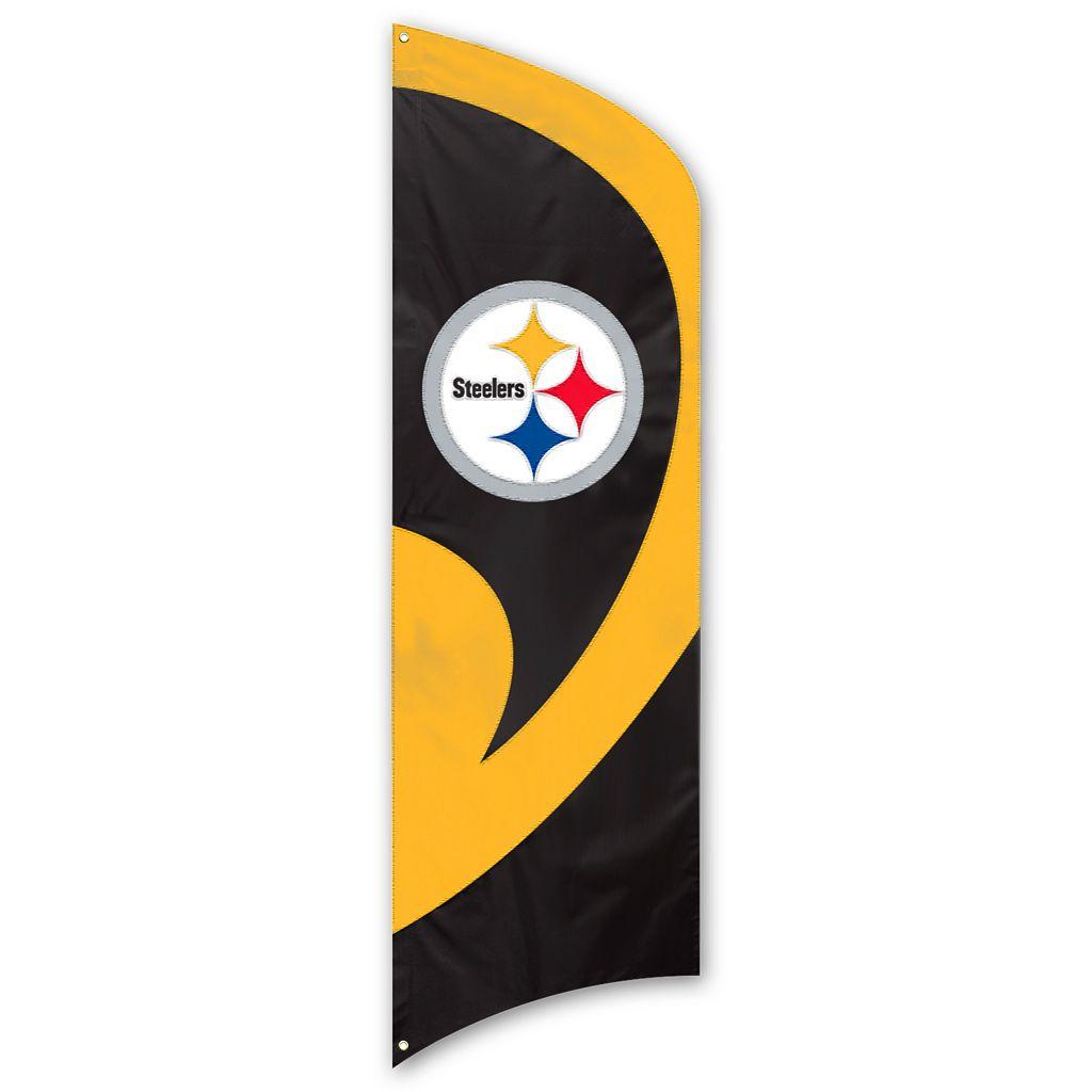 Pittsburgh Steelers Tall Team Flag