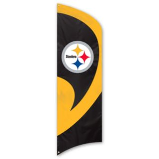 Pittsburgh Steelers Tall Team Flag