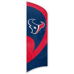 Houston Texans Tall Team Flag