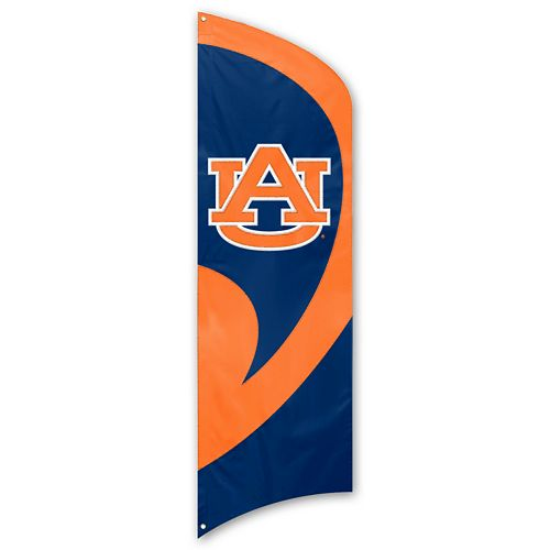 Auburn Tigers Tall Team Flag