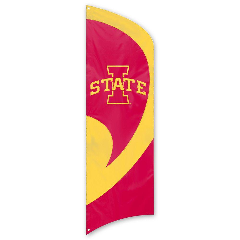 Iowa State Cyclones Tall Team Flag