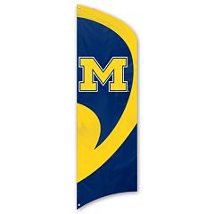 Michigan Wolverines Tall Team Flag