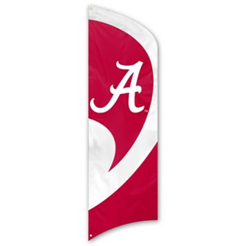 Alabama Crimson Tide Tall Team Flag