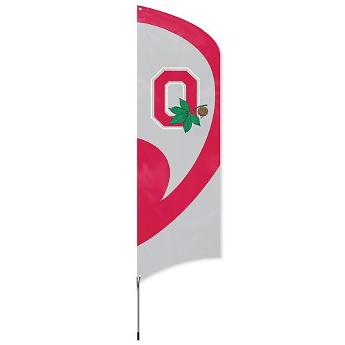 Ohio State Buckeyes Tall Team Flag