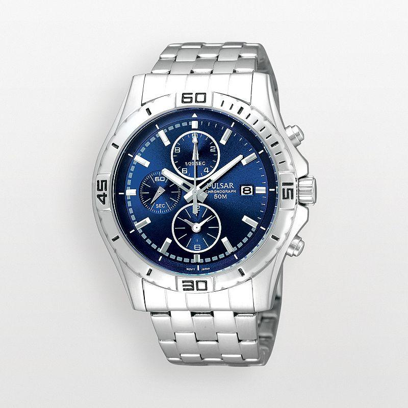 Pulsar Stainless Steel Chronograph Watch - PF8397 - Men