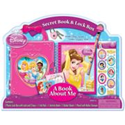 Disney Princess Secret Book and Lock Box Activity Set