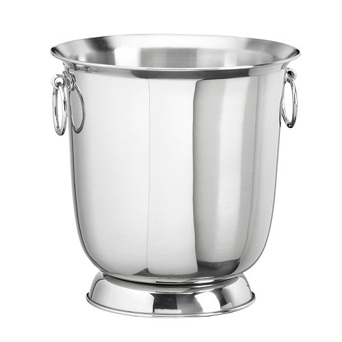 Stainless Steel Traditional Champagne Bucket by Kraftware