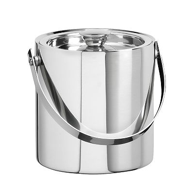 Kraftware Stainless Steel 1 1/2-qt. Insulated Ice Bucket