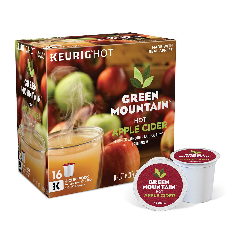 keurig kcup pod green mountain hot apple cider 16pk - Keurig K Cup