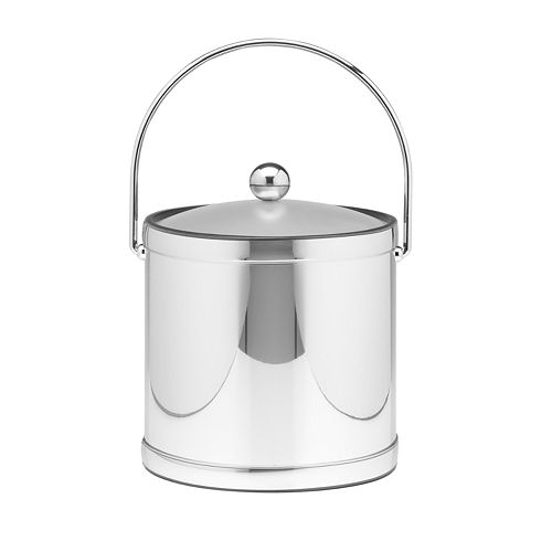Metal Ice Bucket by Kraftware