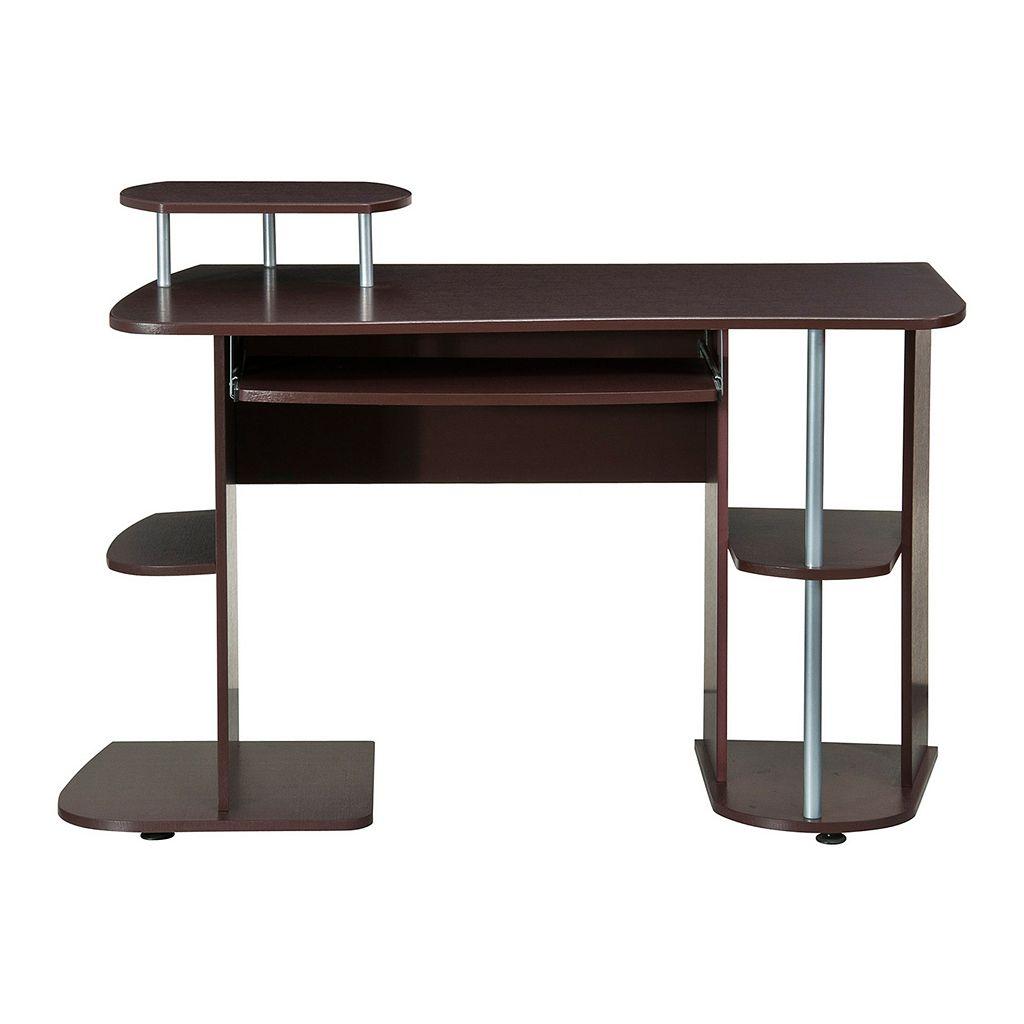 Techni Mobili Pedestal Computer Desk