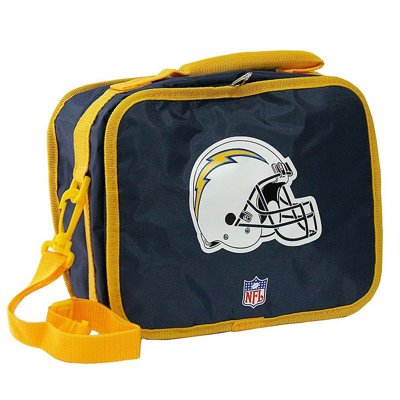 San Diego Chargers Box Office: Zipper Lunch Box