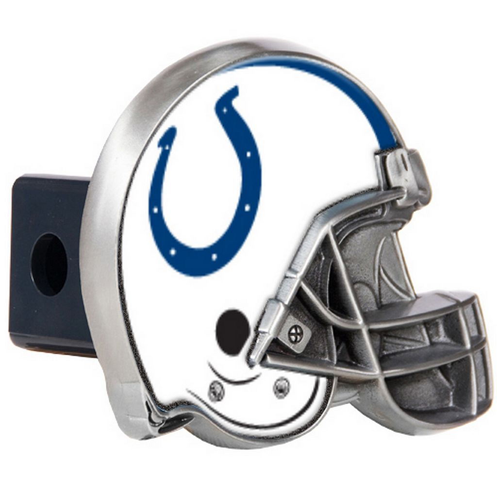 Indianapolis Colts Helmet Trailer Hitch Cover