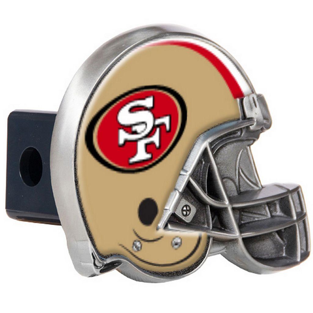 San Francisco 49ers Helmet Trailer Hitch Cover