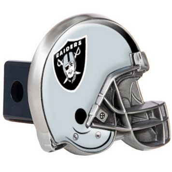 Oakland Raiders Helmet Trailer Hitch Cover
