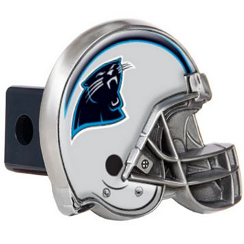 Carolina Panthers Helmet Trailer Hitch Cover