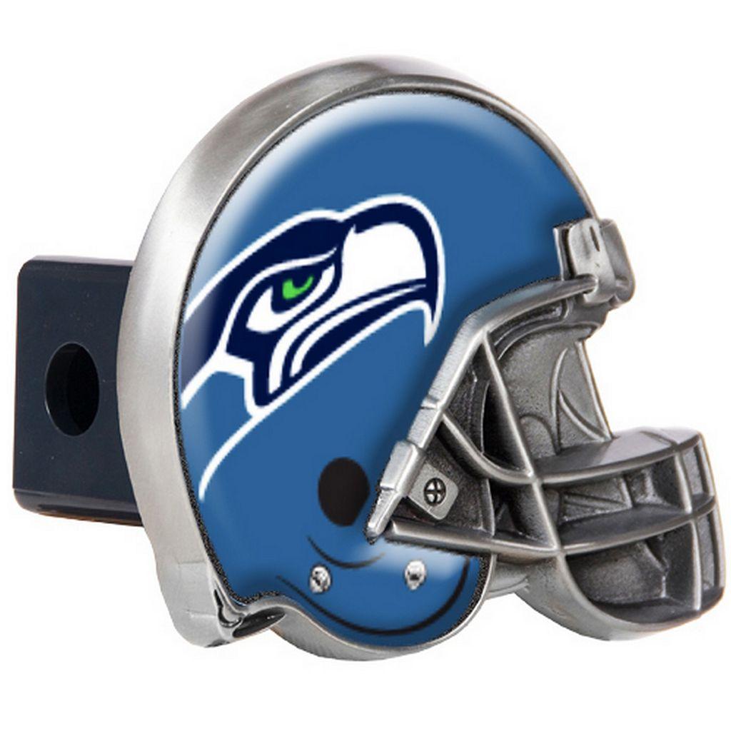 Seattle Seahawks Helmet Trailer Hitch Cover