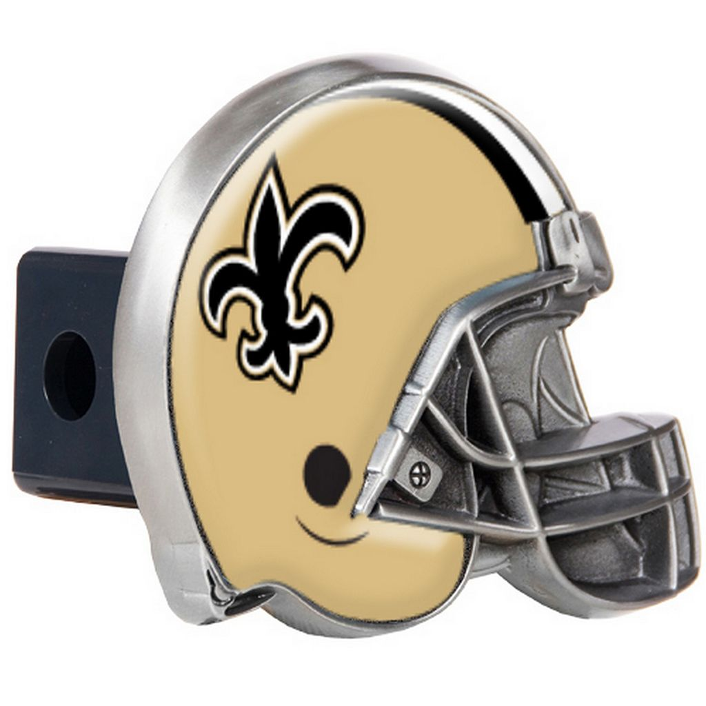 New Orleans Saints Helmet Trailer Hitch Cover